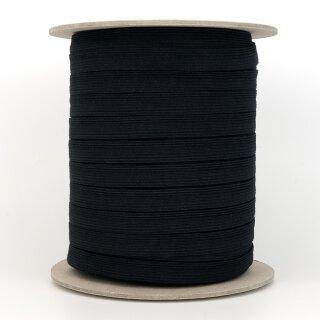 Bio Einziehgummiband - 13 mm - schwarz