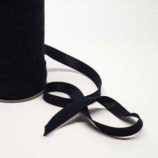 Organic elastic - 18 mm - black - light