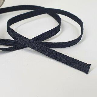 Organic ribbon - 6 mm - unelastic - black