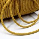 Organic cord - 7 mm - inelastic - golden brown