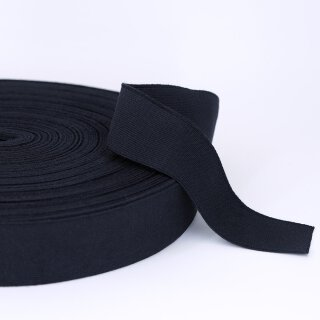 Organic elastics - 40 mm - black- strong