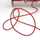Organic elastic cord - 2.2 mm - red