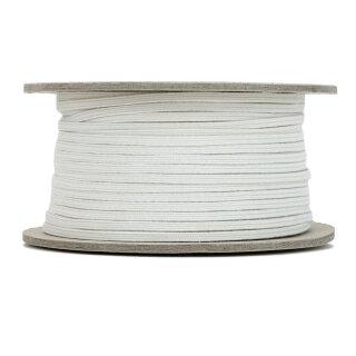 Bio Einziehgummiband - 3 mm - ecru