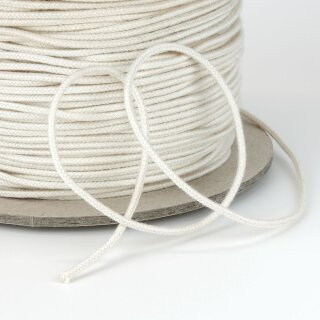 Organic cord (piping) - 2 mm - unelastic - ecru