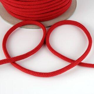 Organic cord - 7 mm - inelastic - red