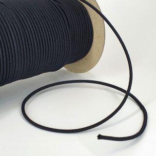 Organic elastic cord - 3.0 mm - black